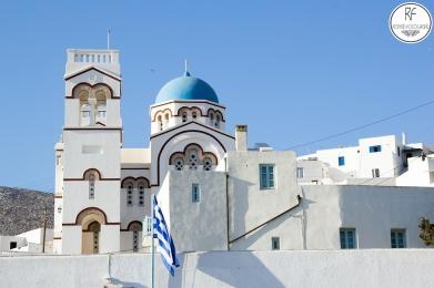 Île d'Amorgos en Greece.