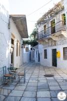 Filoti un pequeño pueblo de la isla Naxos.