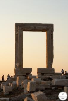 Templo de Apollon en la Isla Naxos