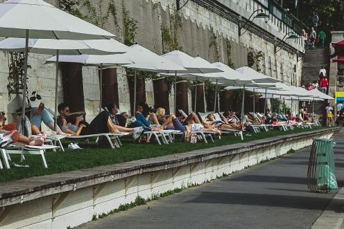 La Seine, Paris. L'Été 2017