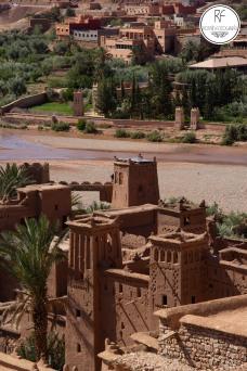 Village de Aït Ben Haddou á Ouarzazate
